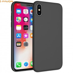 luxury liquid silicone rubber phone case protective shockproof back cover