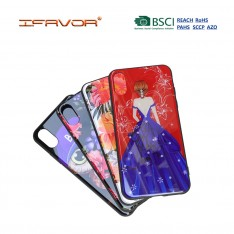 Tempered Glass Cover with Printing