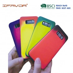 Heat sensitive magic color TPU back cover for iPhone